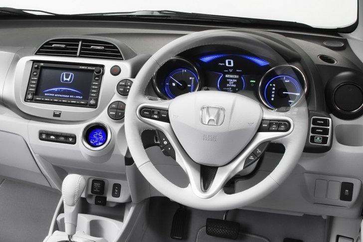 Honda fit interior