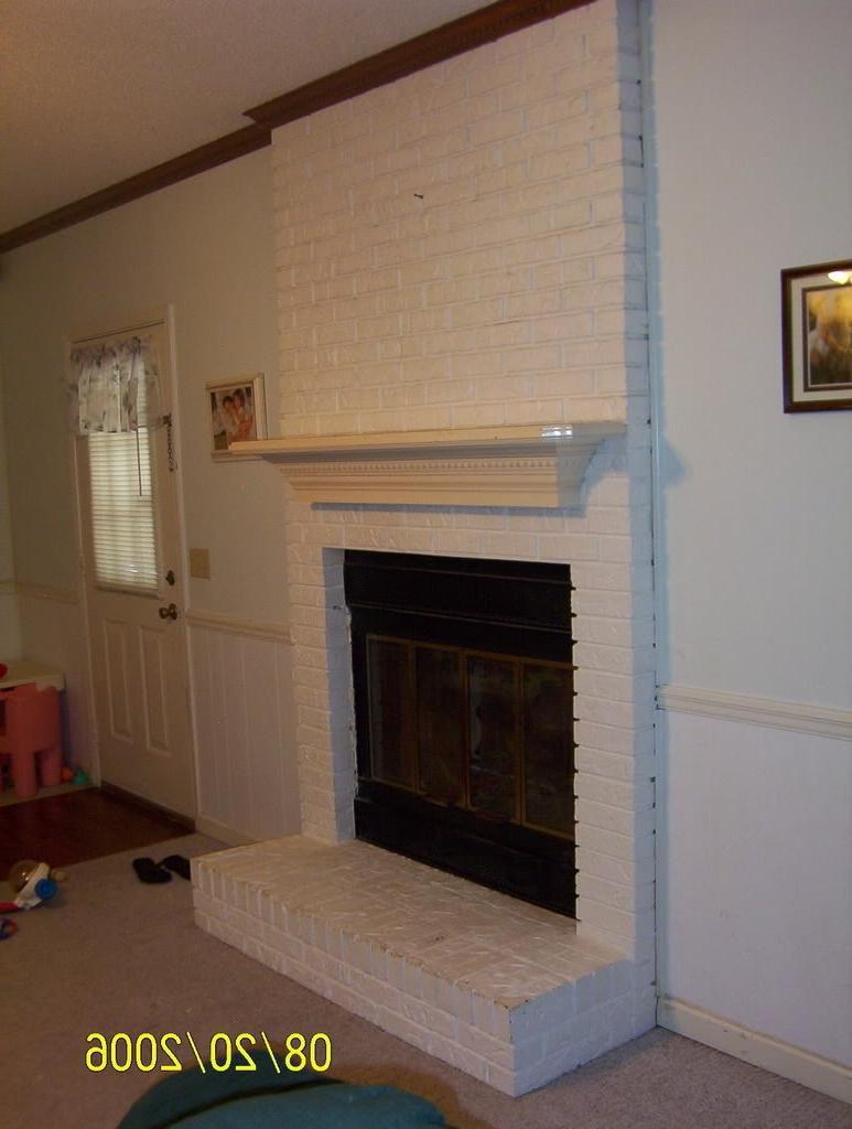 Refacing a brick fireplace fireplaces forum gardenweb source