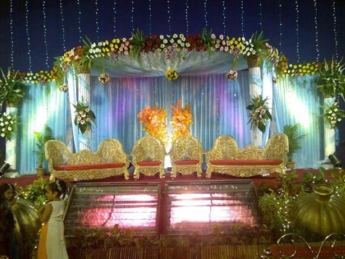 Decoration of stage marriage photos - Decoration ideas trendseve ...
