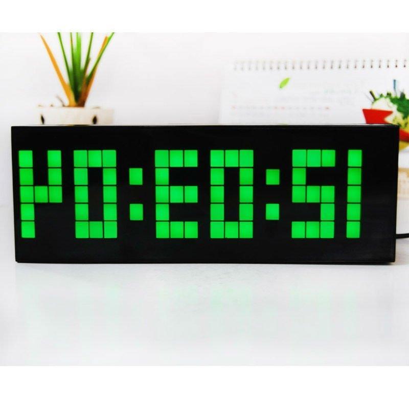 Desktop digital photo alarm clock