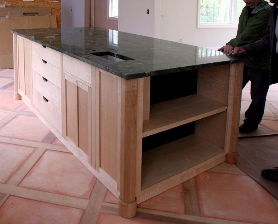 Custom kitchen island photos for Unique kitchen islands for small spaces