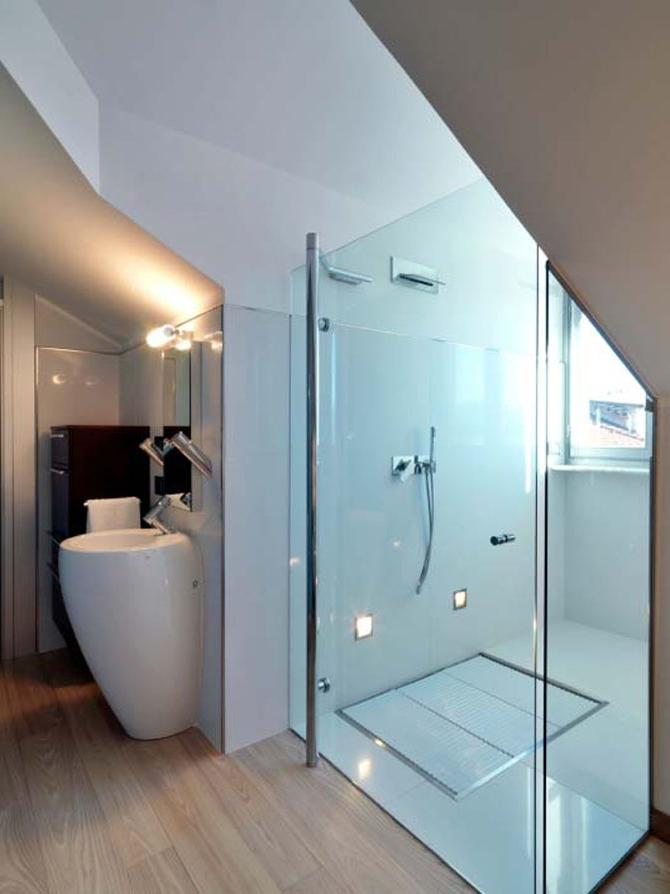 Comfortable Attic Bathroom Design listed in: inspirational...