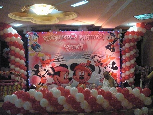 Indian cradle ceremony decoration photos for Baby name ceremony decoration ideas