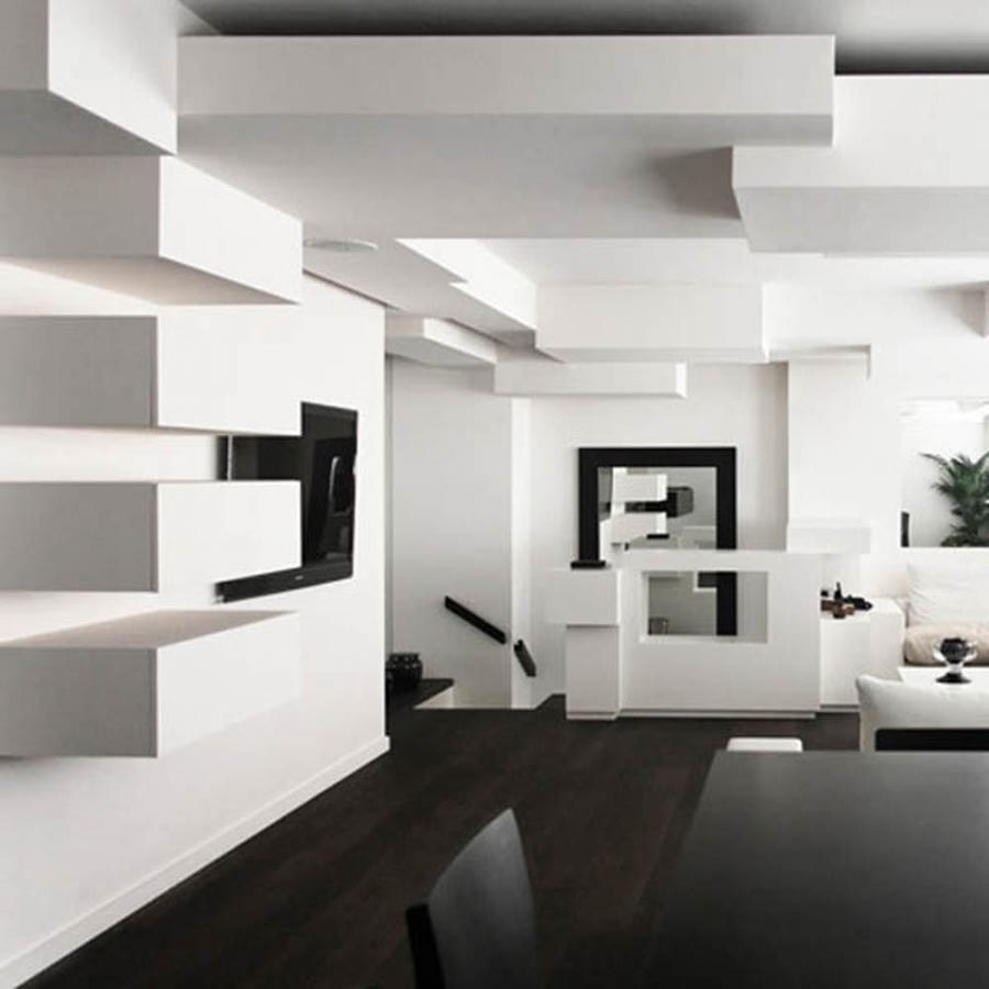 creative ceiling paris apartment design interior