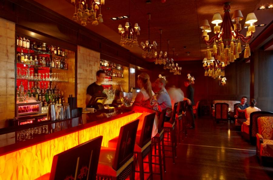 The Buddha-Bar Hotel Budapest Klotild Palace is the place to do...