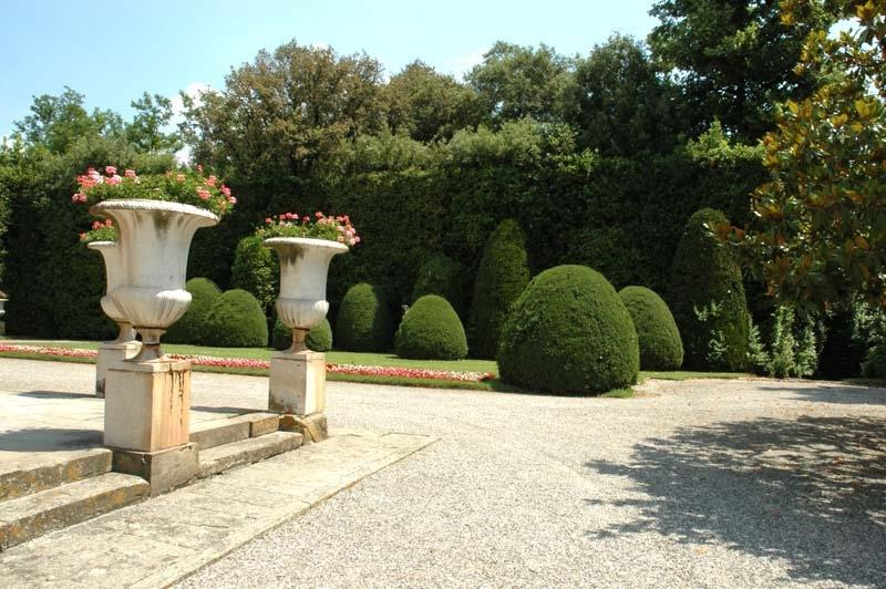 ...inheritor of the traditional French and Italian garden design