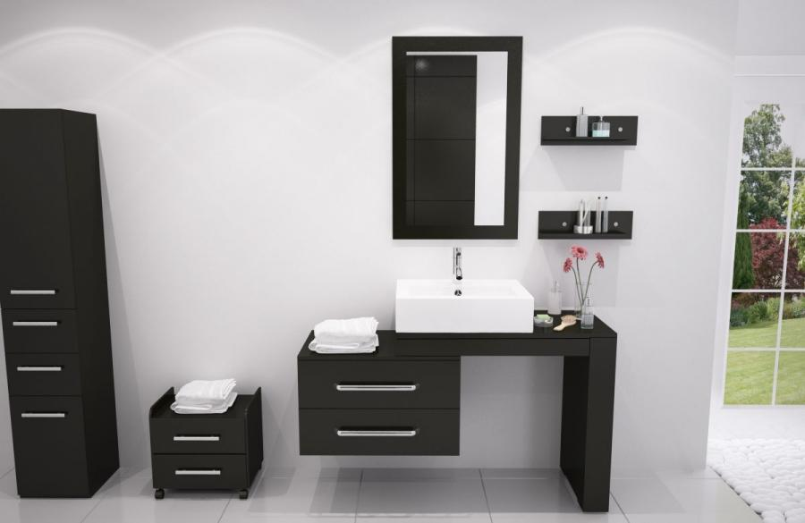 Modern bathroom vanities from Trade Winds Imports; great bath...