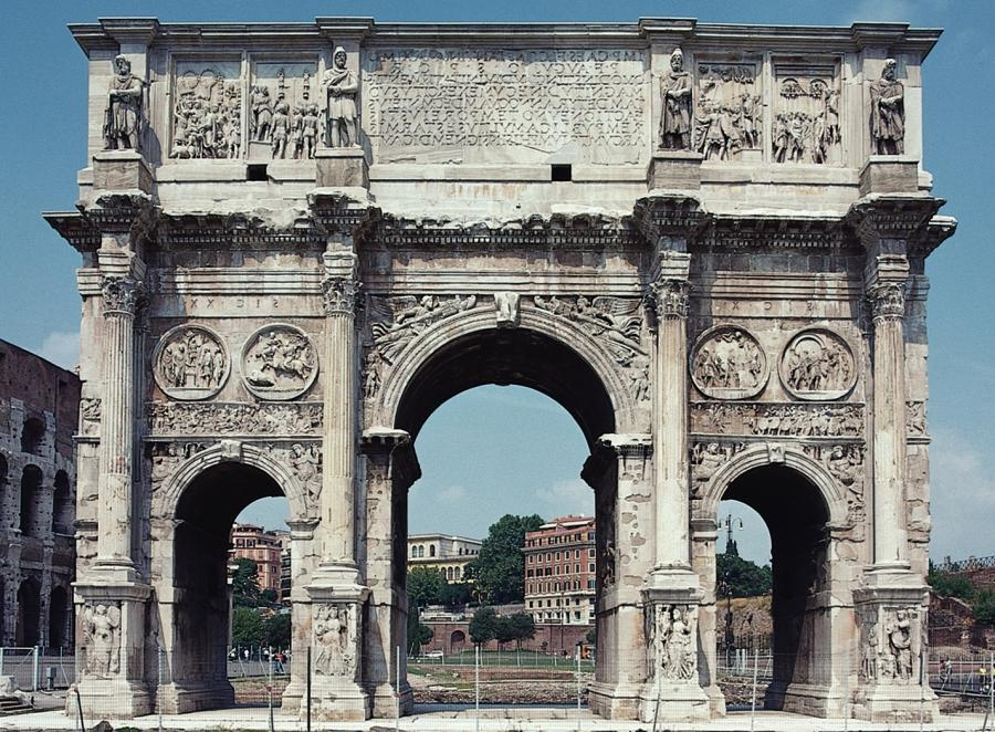 an introduction to the arch of constantine Spolia damnatio and renovatio memoriae the introduction of spolia occurred in si- singled out the arch of constantine as an egre.