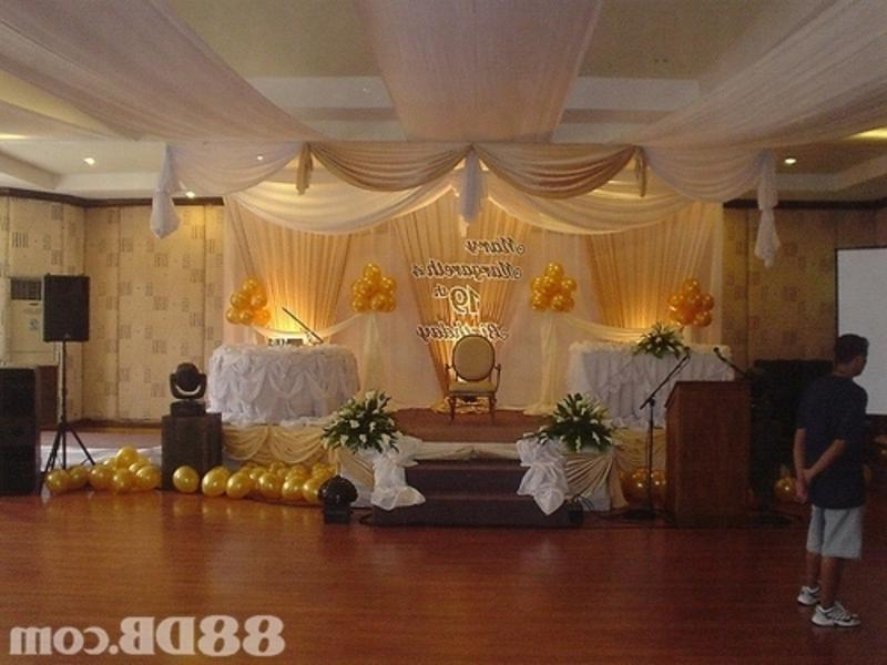 Birthday Hall Decoration Photos