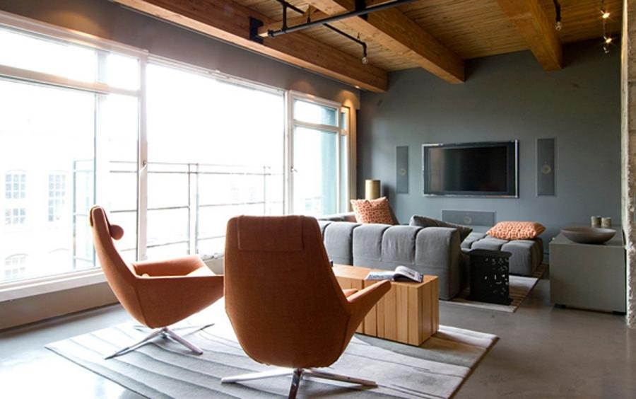 Modern Design From Kelly Reynolds, Modern Apartment In Vancouver...