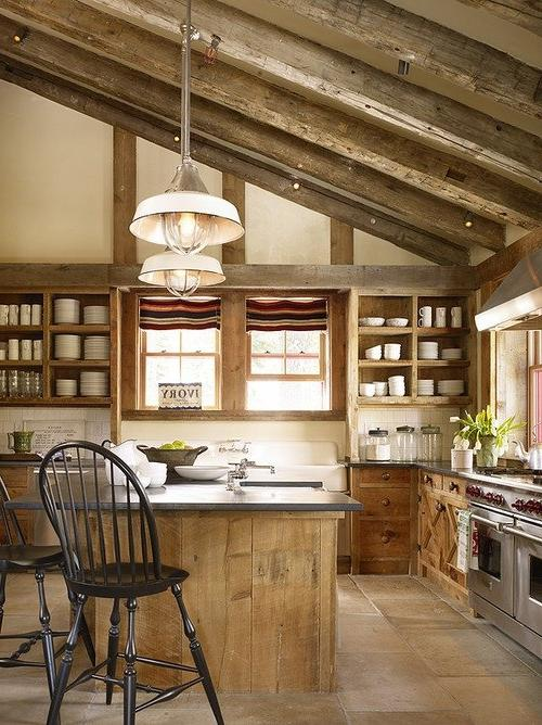 33 Wonderful Kitchens Interiors Designed In Barns ... source