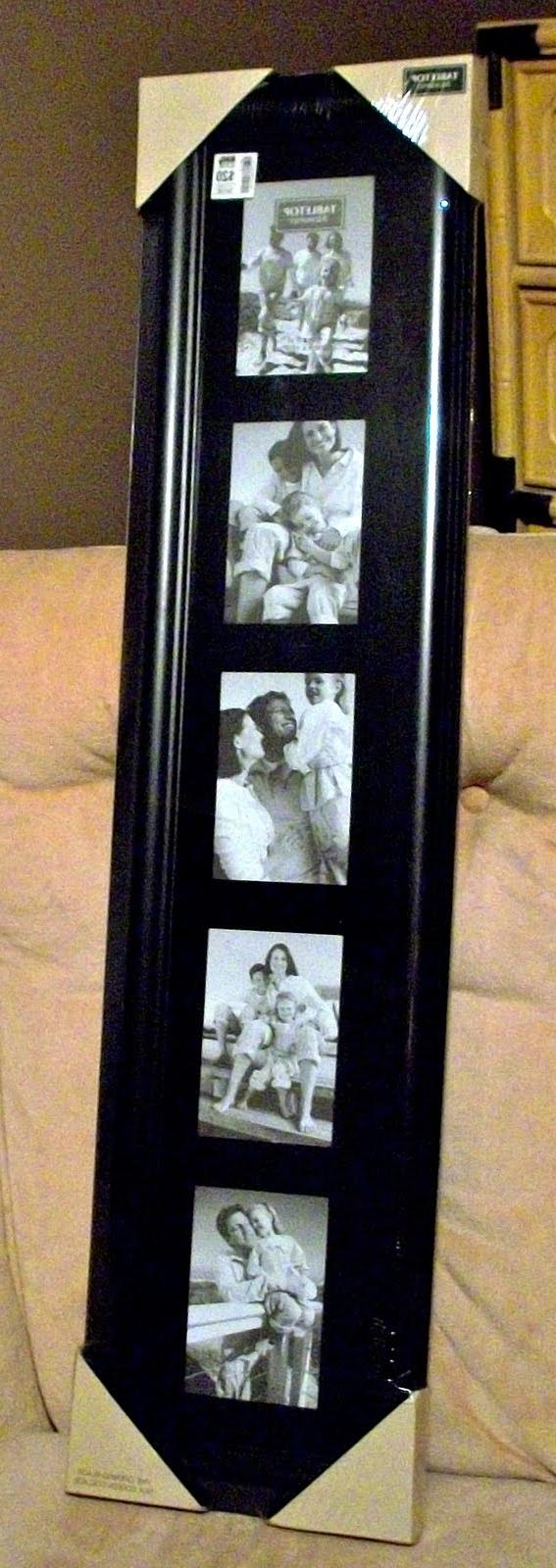 Floor Standing Photo Frame Collage