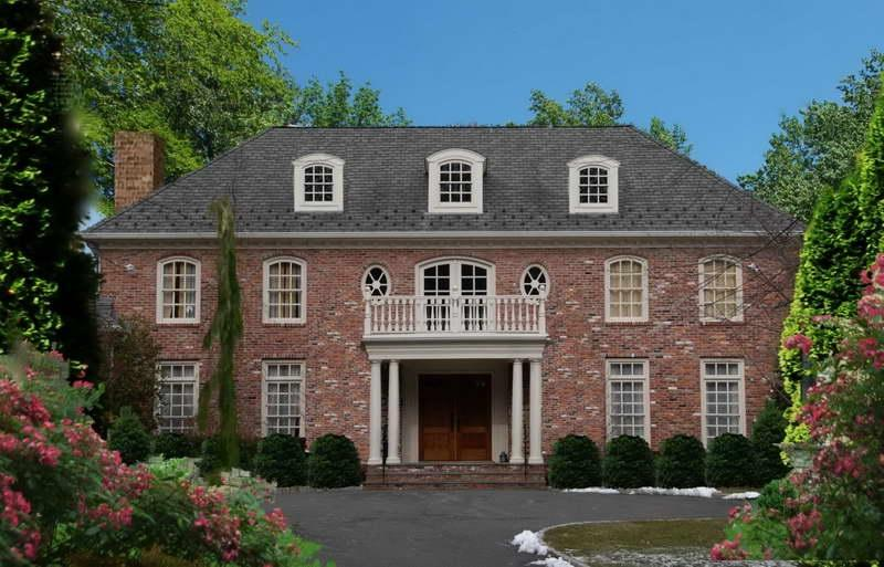 Stunning Colonial Home Designs Ideas Colonial Home Designs With