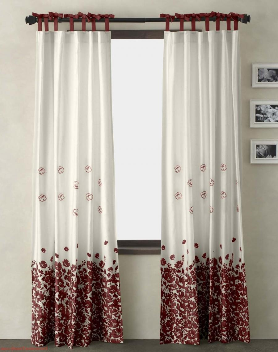 This type of curtain design is widely seen and trendy even this...