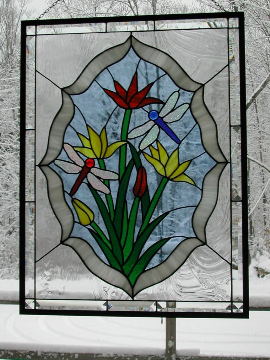 Stained Glass Windows Flowersprism Works Gallery Of Stained Glass...