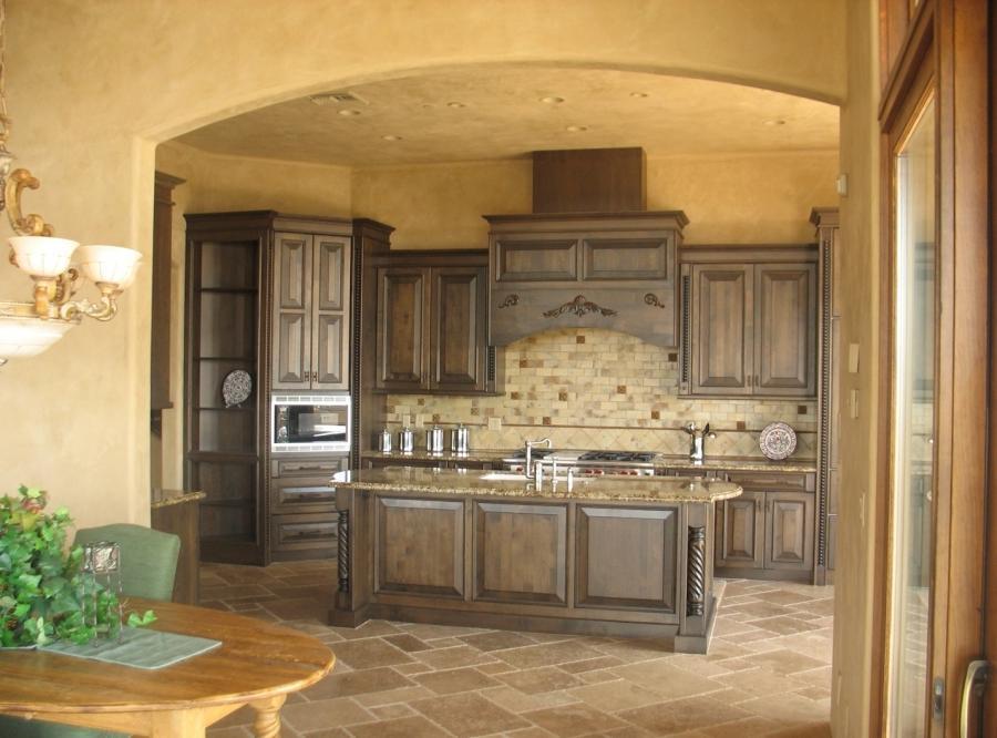 Tuscan kitchen design photos for Tuscan kitchen design photos
