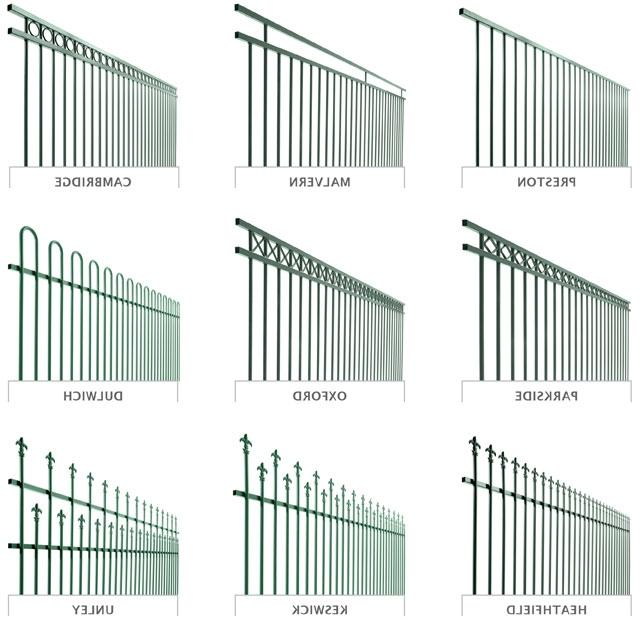 Fence Types Photos