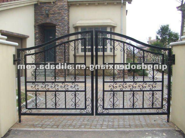 main gate designs front gate design iron gate made in China 2012 ...
