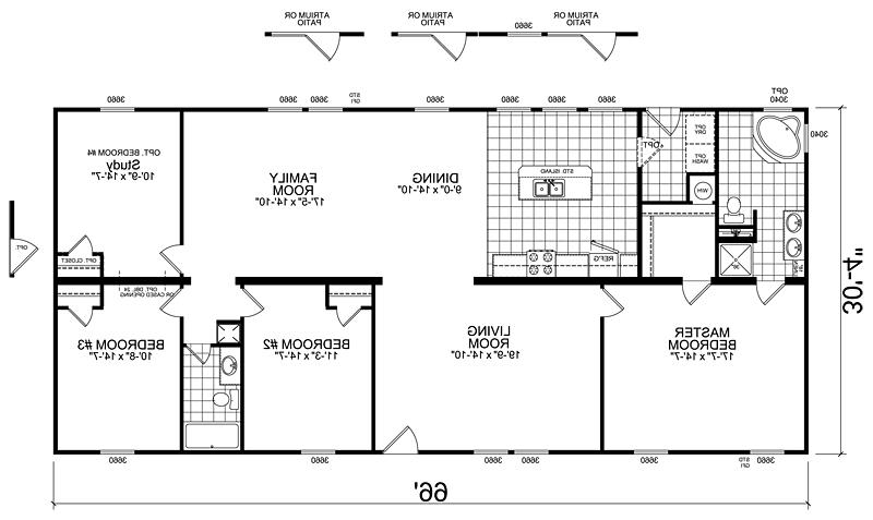 Manufactured homes floor plans photos - Houses bedroom first floor fit needs ...