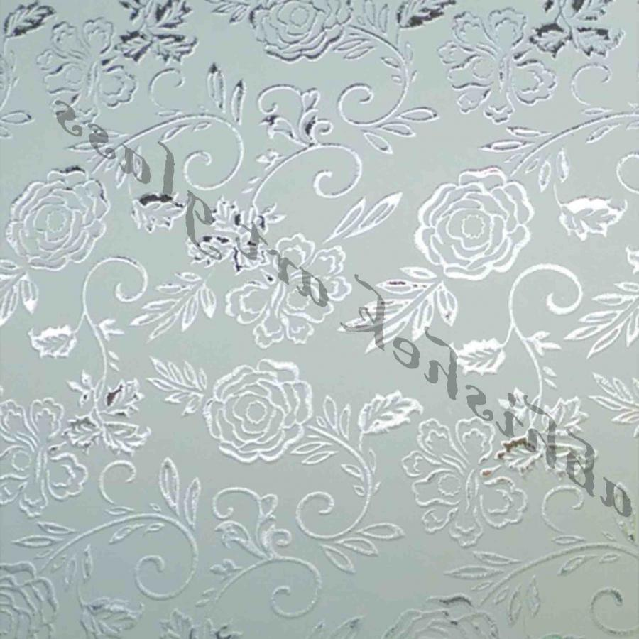Crystal Deep Acid Etched Glass 14