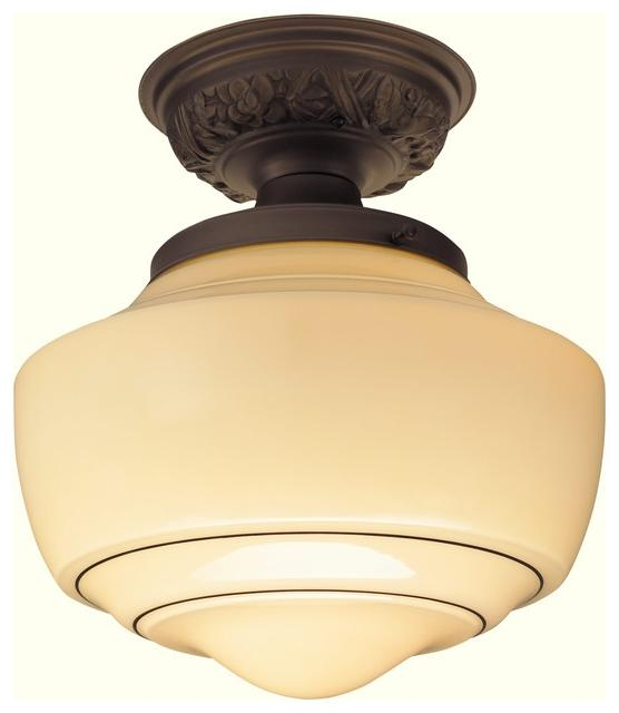 Spellman Semi-Flushmount Light Fixture...