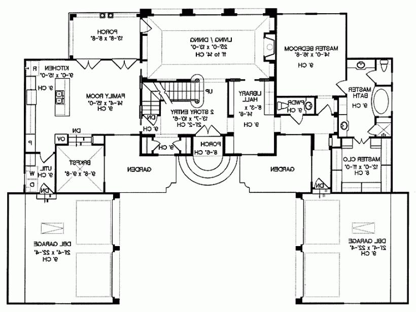 28 eplans chateau house plan gracious blueprints for Eplans house plans