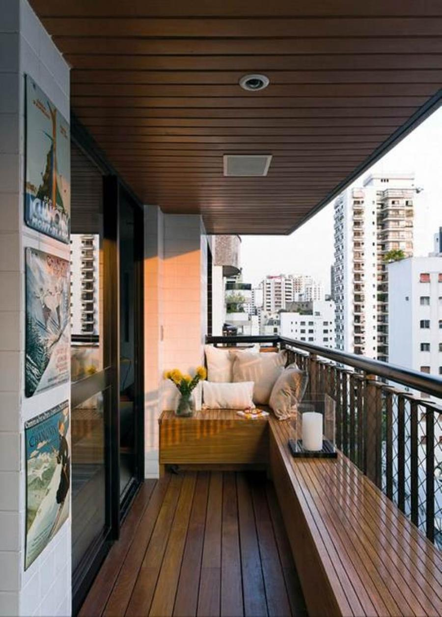 Cool Idea to Decorating a Small Balcony Ideas