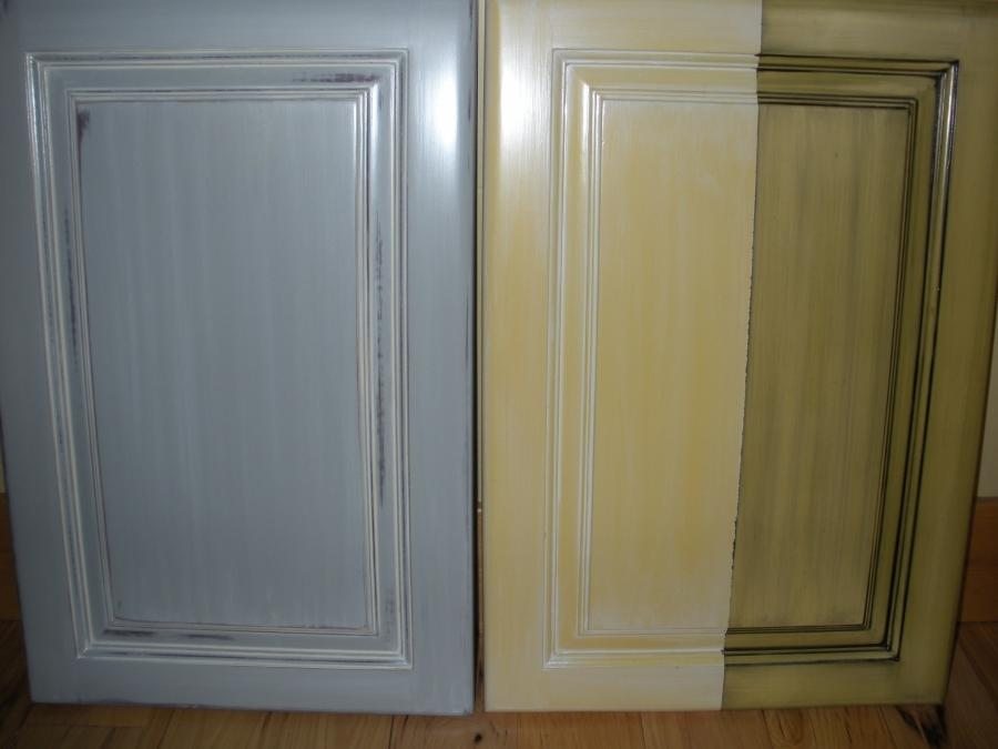 Refinished kitchen cabinet samples boise painters source