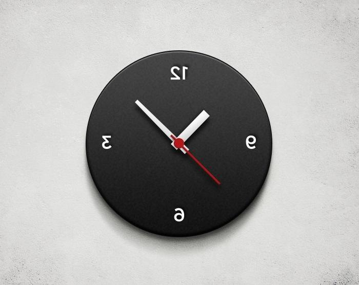 Photo On Wall Clock