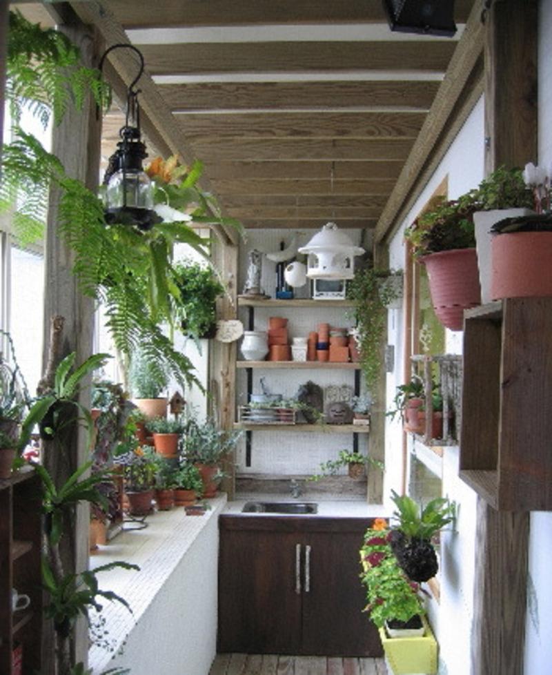 Small balcony design photos.