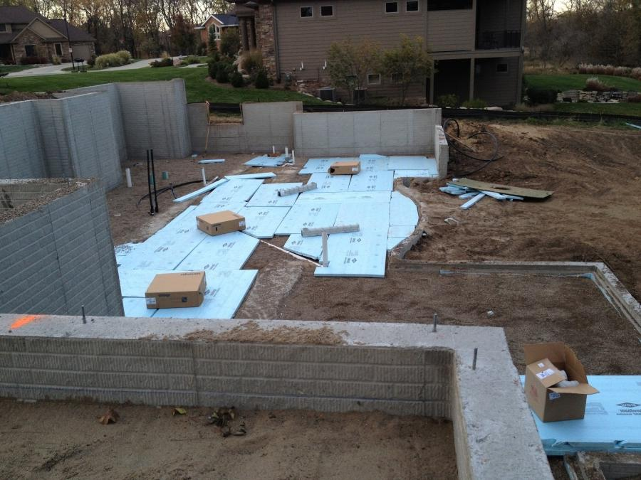 House building process photos for Home building process