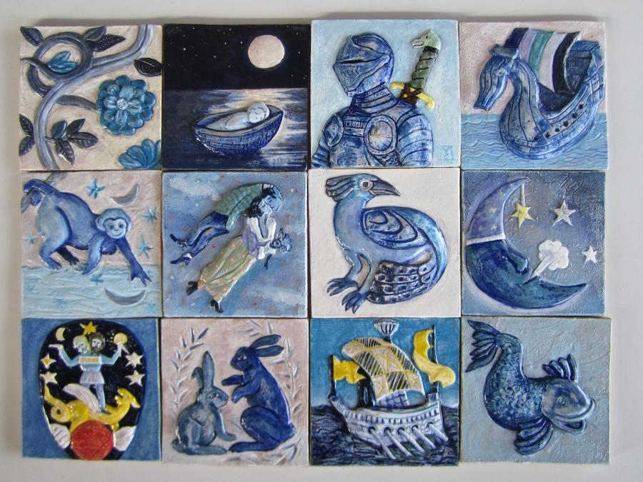 Ceramic tile crafts photos for Ceramic tiles for crafts projects
