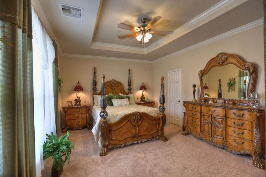 Bedroom tray ceiling photos for Top rated ceiling paint