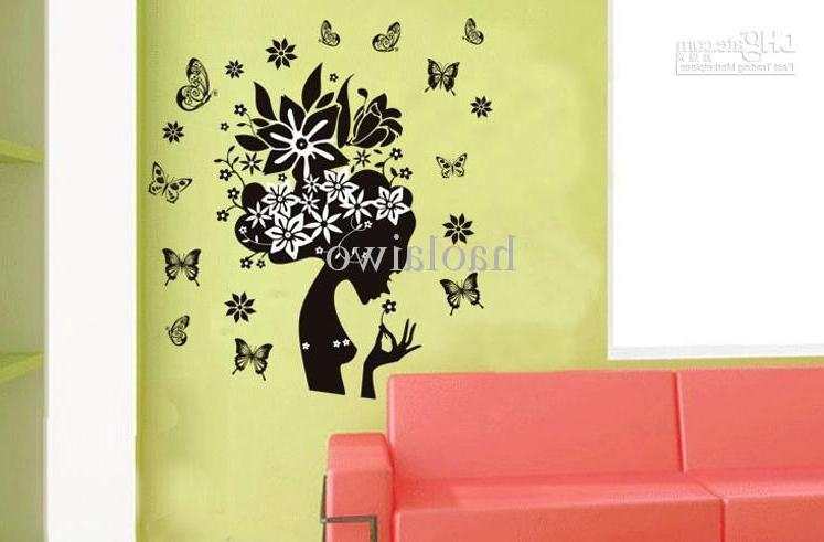 EMS Flower Faerie Wall sticker art, house decorative...