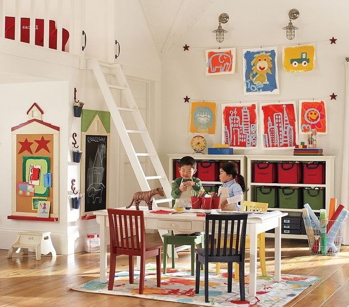 Photos of kids playrooms for Cool playroom designs