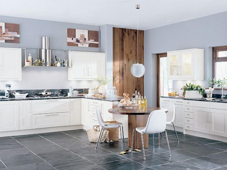 Creative Ivory Blue Kitchen Decor listed in: stylish kitchen...