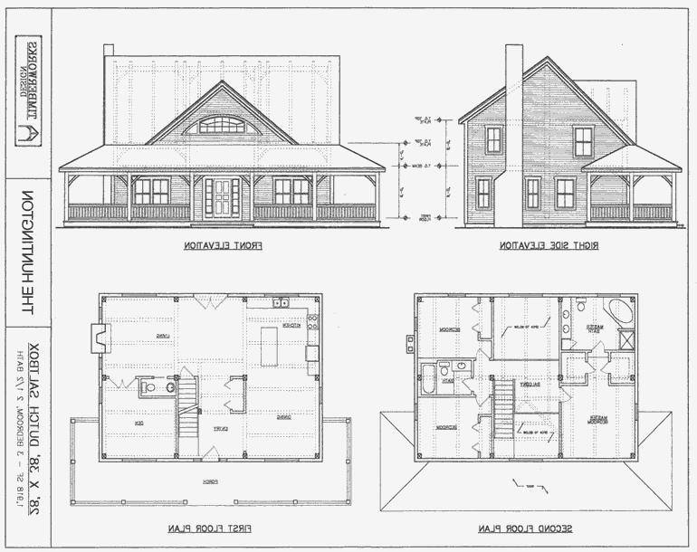 Post and beam house plans with photos for Post frame house plans
