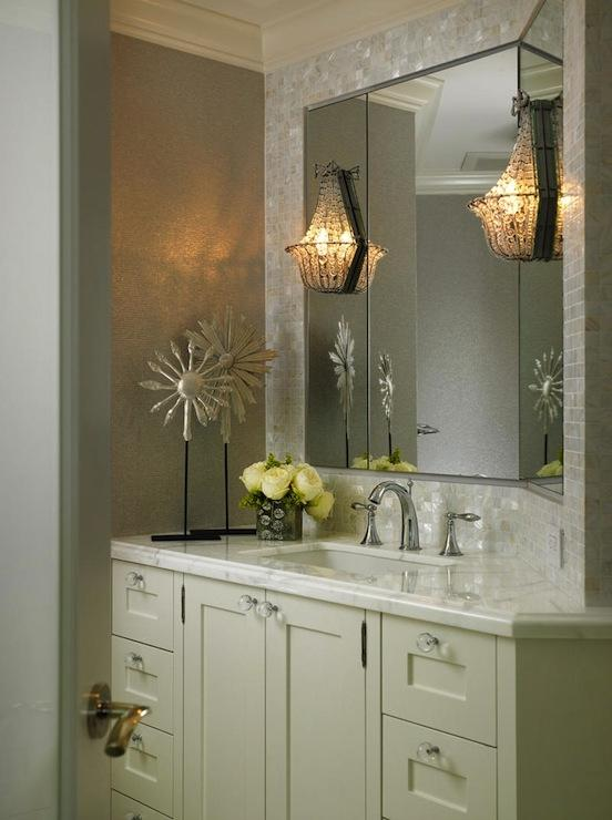 Master Bathroom Wall Sconces : Bathroom sconce photos