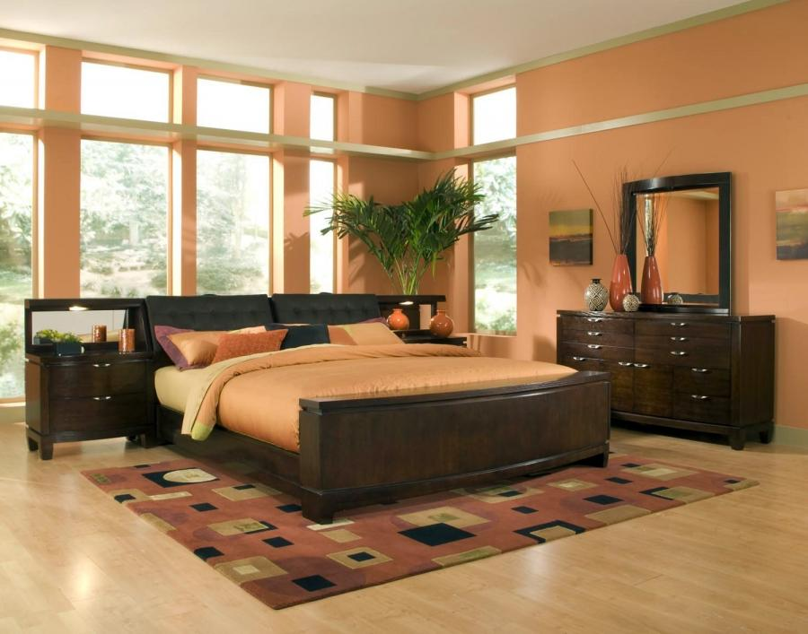 Natural Orange Interior Bedroom listed in: classy bedroom