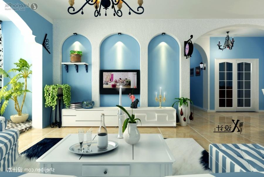2013 Eastern Mediterranean decoration living room TV background...