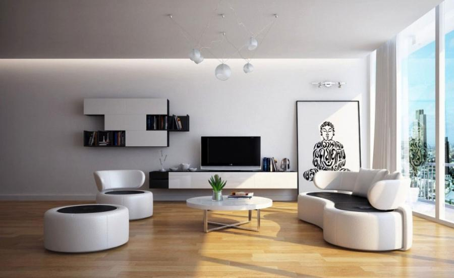 Contemporary Designing A Living Room With Impressive Idea listed...
