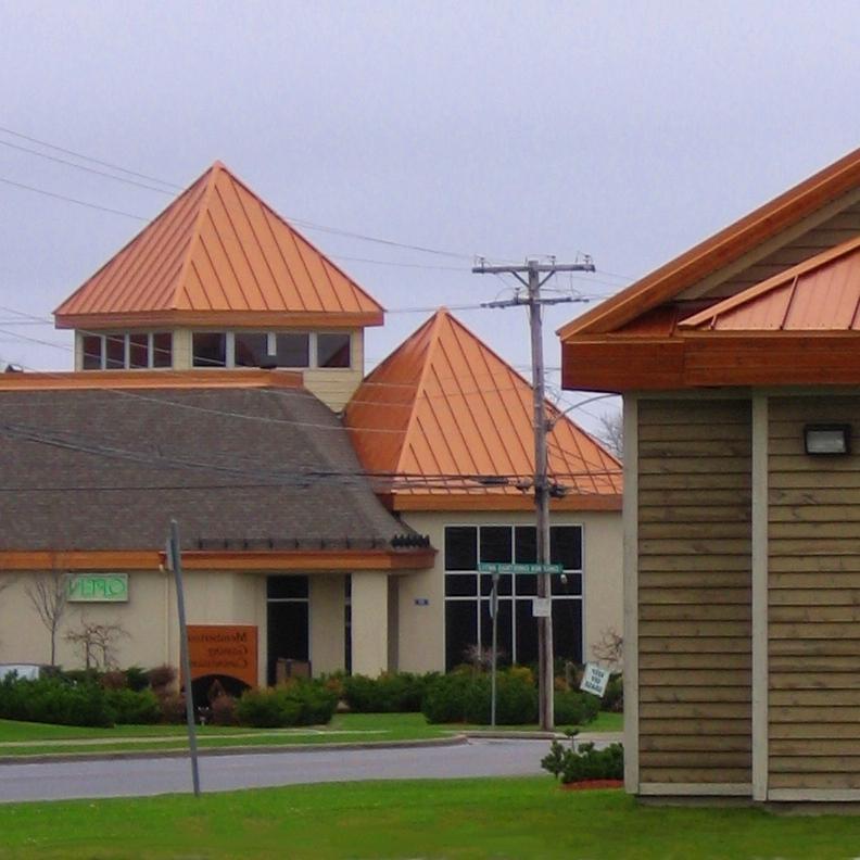 Copper Metal Roof Photos