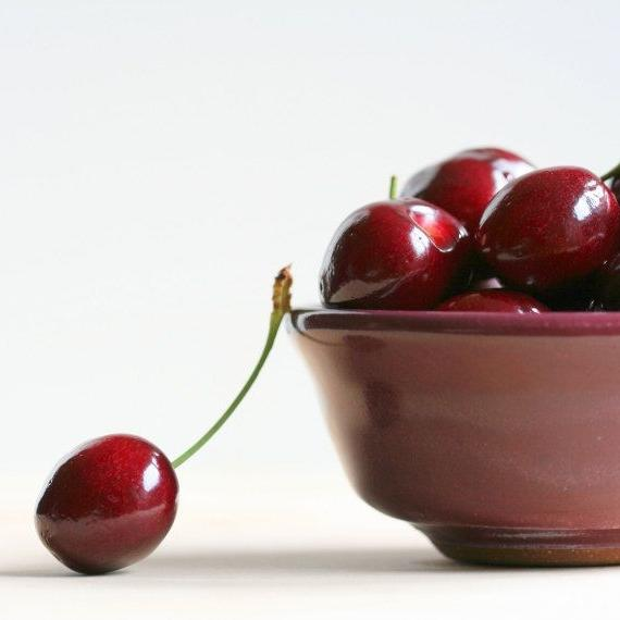 Fruit photography red cherries kitchen art by NaturalCharmPhotos,...