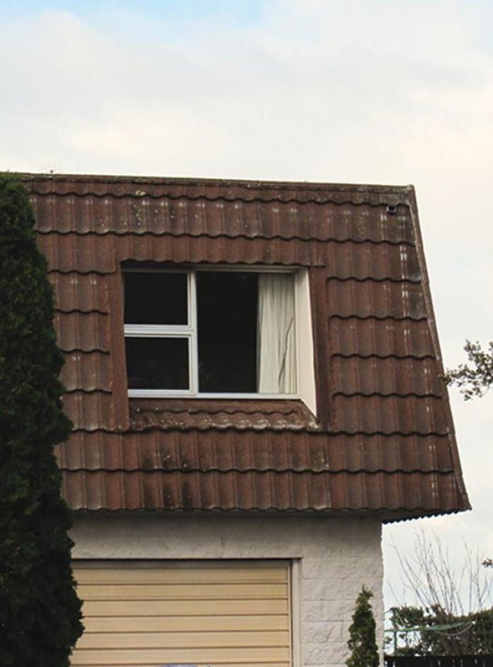 Mansard Metal Photo Roof