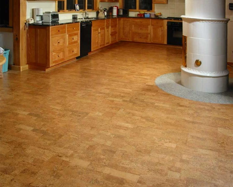 Cork Tile Flooring Ideas