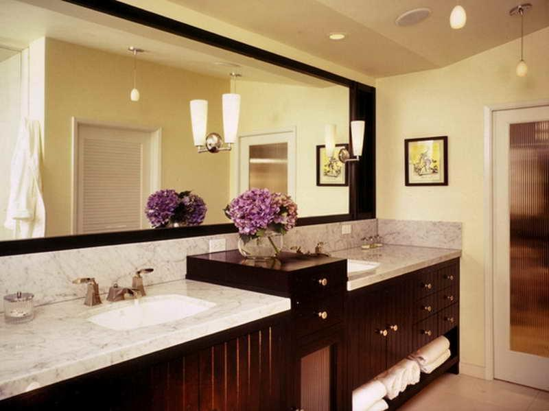 Modest Bathroom Decor Decorations With Flower Picture listed in: