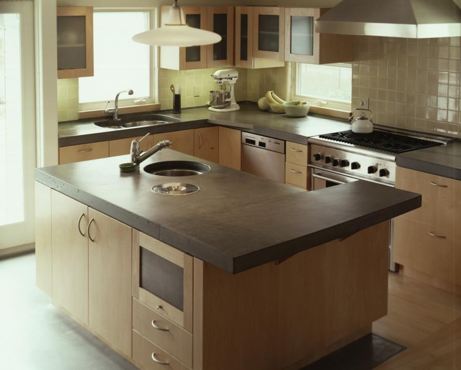 Countertop Material Guide : Guide to Kitchen Countertop Materials. concrete-counters
