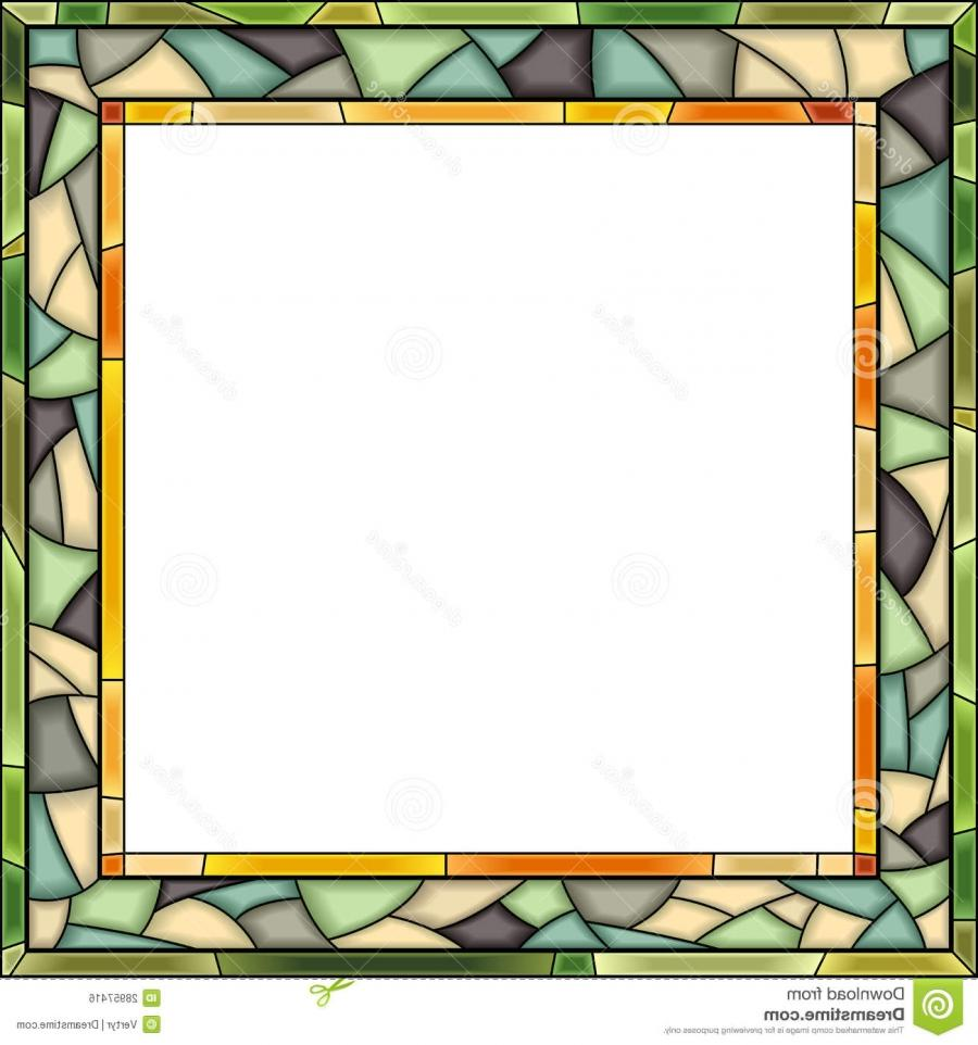 stained glass photo frame patterns