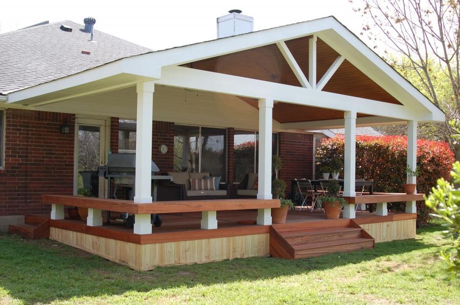 covered porch design photos