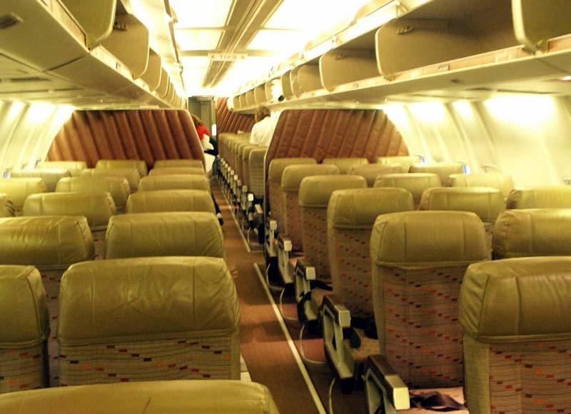 Southwest Airlines Interior Photos